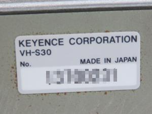 キーセンス KEYENCE デジタルマイクロスコープ シリアルナンバー