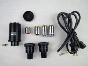 オリンパス OLYMPUS 顕微鏡 付属品一式