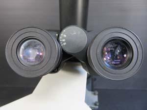 オリンパス顕微鏡 レンズ不具合