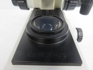 オリンパス顕微鏡 梱包前 必ず 動作確認