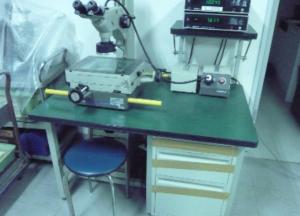 現場 顕微鏡