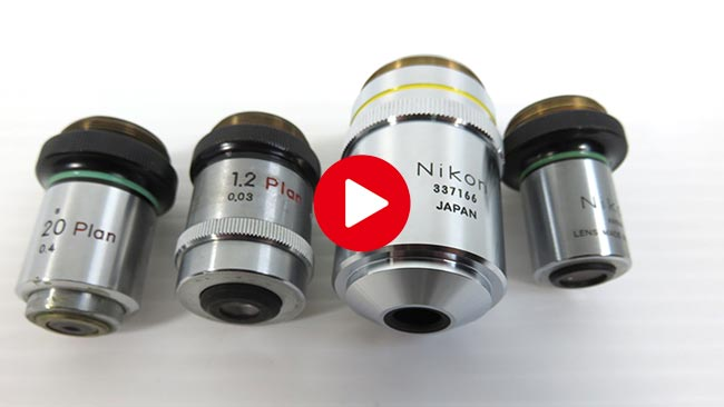 Nikon ニコン 対物レンズ買取